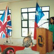 Inauguracion colegio 1993