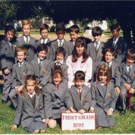 1st Grade 1992
