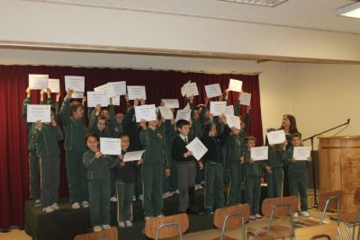 Multiplication Ceremony 3rd Graders