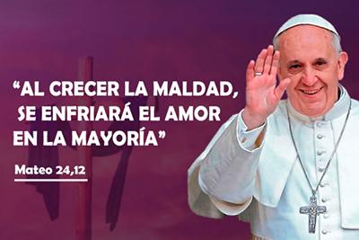 CUARESMA 2018 : Mensaje del Papa Francisco.