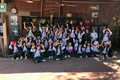 Kinder visita al Buin Zoo
