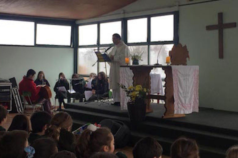 Misa organizada por 7th grade