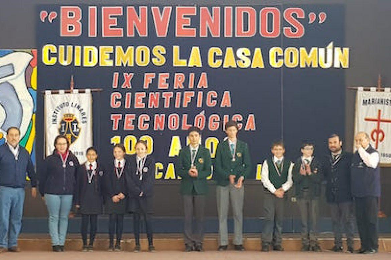 OC gana el 2º lugar en la 9a feria científica de Linares