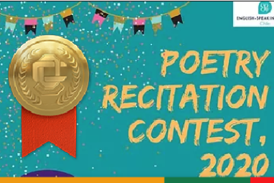 Finalistas ESU Poetry Competition