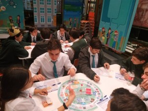 Junior Class viajaron a Santiago - ago 2019