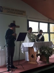 8th Grade: Mass Mother`s Day