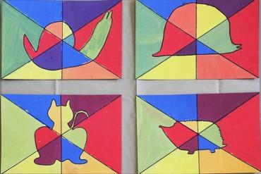 5th y 7th en clases de Arte, tema: Art Noveau.