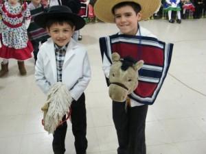 Pre School celebra Fiestas Patrias - 2019