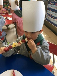 Play Group, cooking workshop (abril 2019)