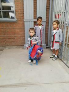 Pre School- niños disfrutando su recreo marzo 2019