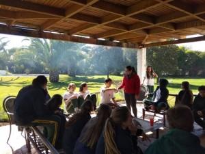 Jornada 10th grade, día dedicado a la reflexión sobre diversas temáticas, propiciando un espacio de apertura y conexión emocional entre compañeros. - 2019