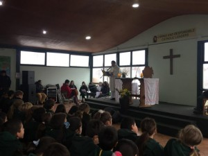 Misa organizada por 7th grade 2019