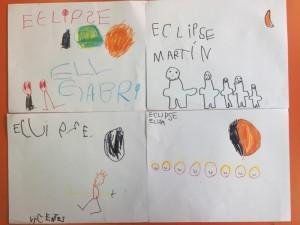 El Eclipse visto por los niños de Prekinder 2019