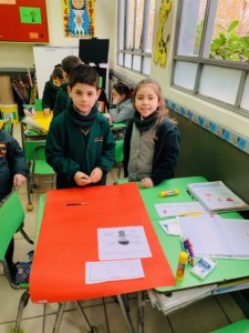 1st grade sciences work project 2019