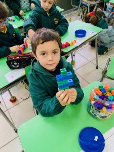1st graders, Learning Patterns in maths