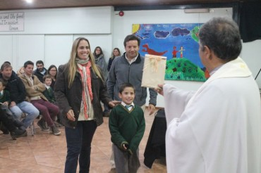 1st Grade: Consagración a la Sagrada Familia