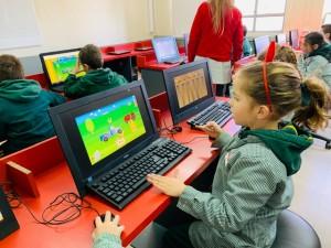 2nd graders enjoying Maths - 2019