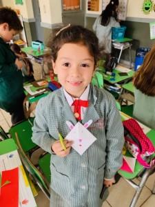 1st graders in Arts - sept 2019