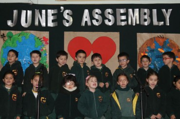 Infant, Kinder, 6th and 3rd Grade: Assembly