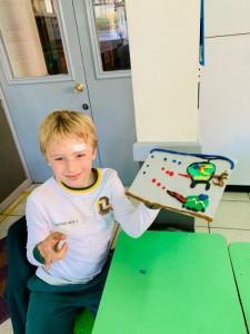 Second graders loving Arts!! 2019