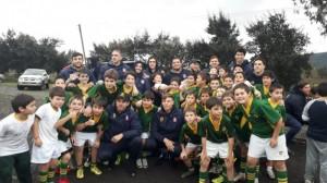 Rugby Seleccion Española y chilena (2019)