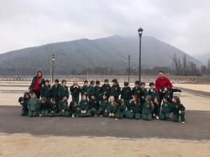 """2nd grade visita el Teatro Municipal de Santiago a ver obra """"El pájaro de fuego"""" -2019"""