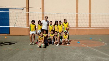 Volleyball 1st to 4th grade