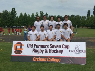 3rd Old Farmers rugby and hockey tournament