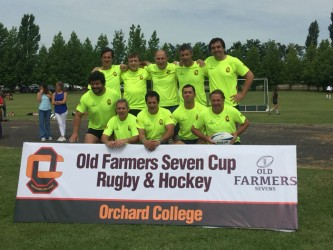 3rd Old Farmers rugby and hockey tournament.