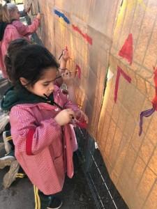 Kinder and Pre kinder children in action 2019