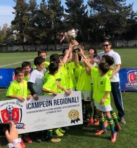 Football de 5th y 6th se coronan Campeón Regional de la Copa organizada por PF.