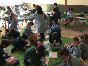 First grade working during this week (6marzo2020)