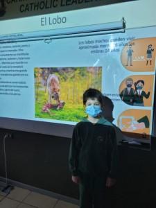 3rd graders presentan su Animal favorito 2021