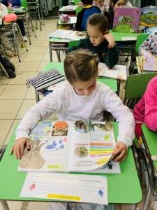 1st graders enjoying Reading..- oct 2019