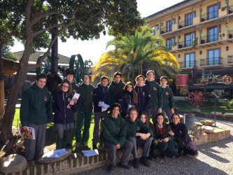 10th Grade: Museo Sta. Cruz y Huilque (6, July)