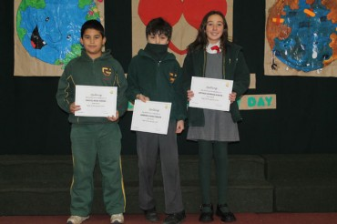 Infant, Kinder, 6th and 3rd Grade: Assembly (19,June)