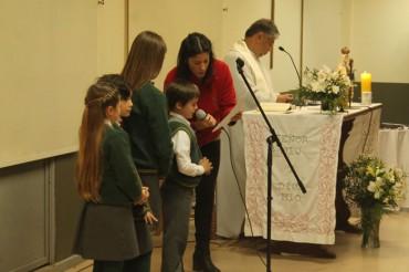 3rd Grade: Imposición al Escapulario (6, July)
