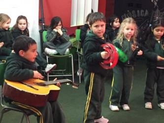 Pre School Workshop: Niños de Pre School aprendiendo (05, Sept)